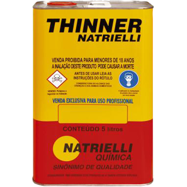 Thinner Natrielli - 5 Litros