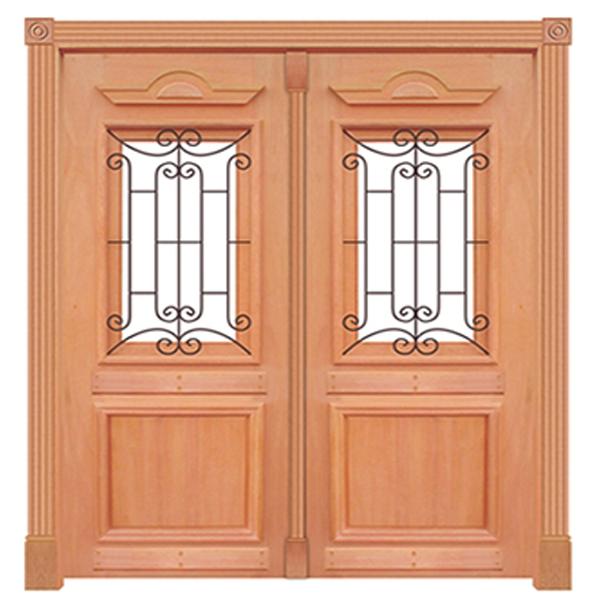 Portal de Abrir Madeira Maciça Cedro Arana Realeza Com Grade 210...