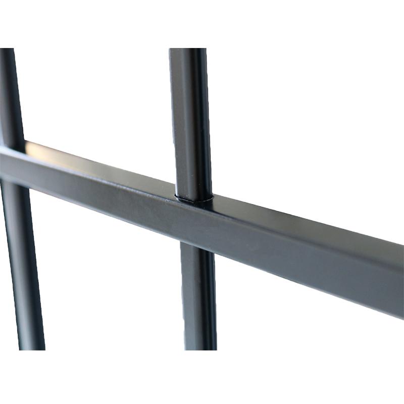 Janela de Alumínio Preto Vitro de Correr 4 Folhas Com Grade CMC Modul - 1