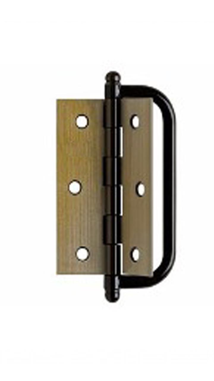 Dobradiça Para Porta Camarão De Aço Oxidado 3.1/2' Ursich