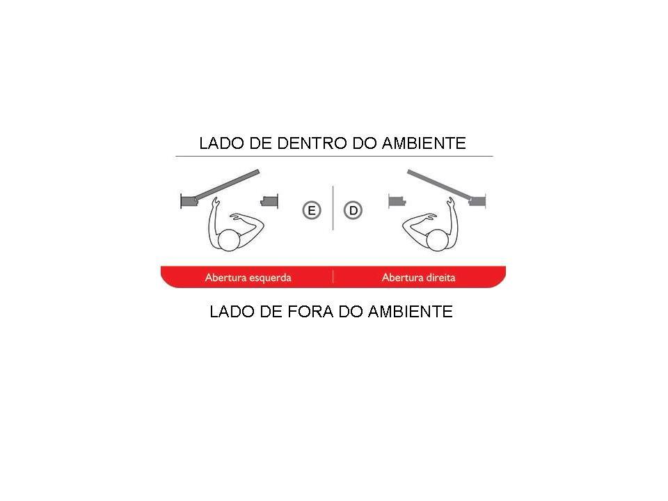 Porta de Alumínio Branco de Cozinha Basculante Atlântica Magnum - 2, - 1
