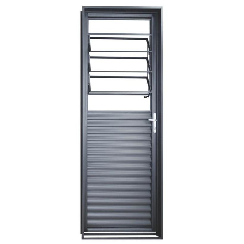 Porta de Aço Vidro Basculante Genova Primer MGM - 2.17 (A) X 0.8...