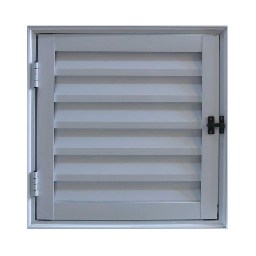Alçapão Ventilado de Alumínio Branco CMC Modular - 0.80 (L) X 1.00 (A)