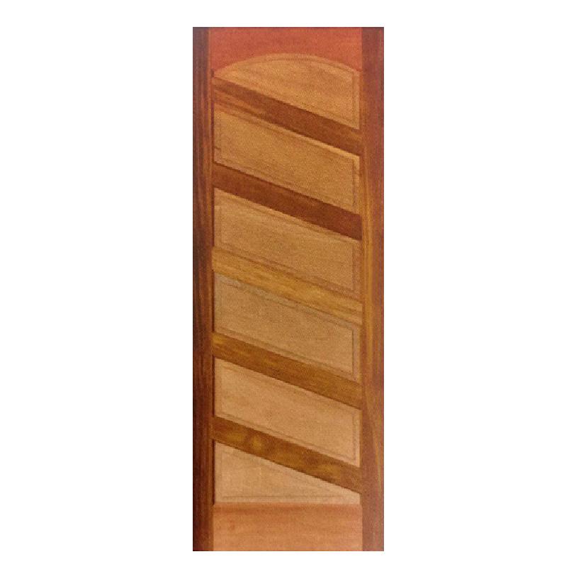 Porta de Madeira Maciça Mirabela Rodam Mista - 2,10 (A) X 0,82 (L)