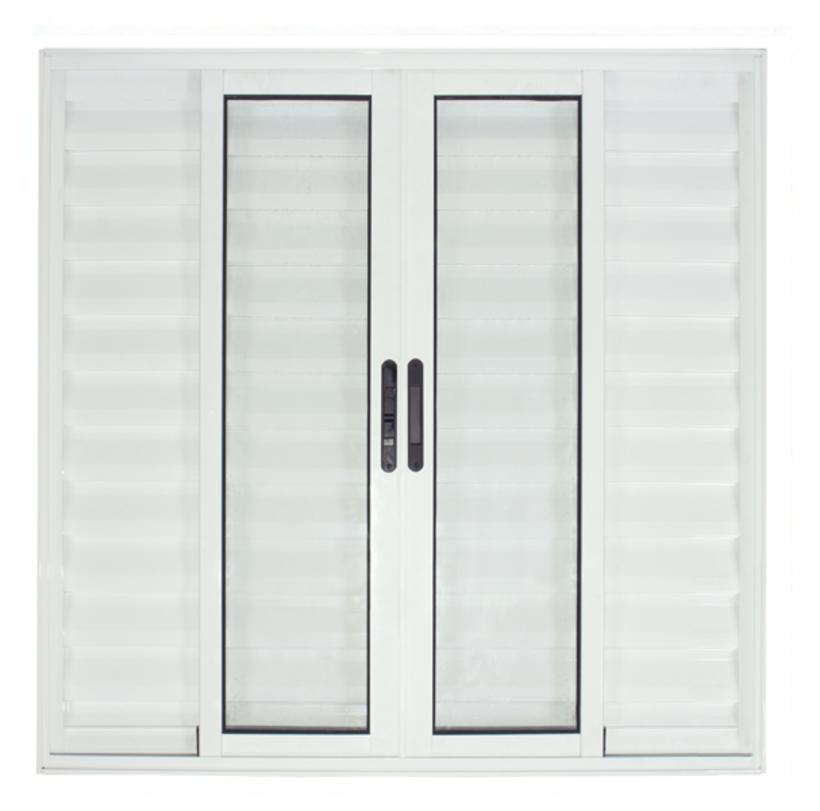 Janela-de-Aluminio-Branco-Veneziana-de-Correr-6-Folhas-Suprema-Sem-Grade-CMC-Classic